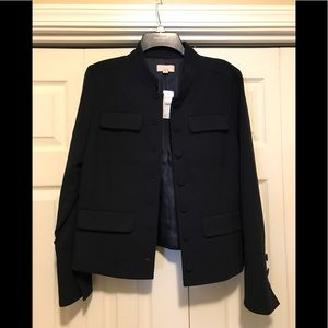 New with tags- military style jacket.